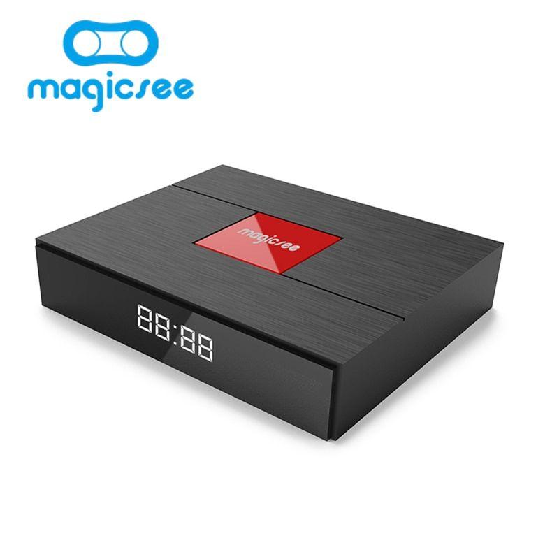 Magicsee C400 Plus Amlogic S912 Octa Core TV Box 3+32GB