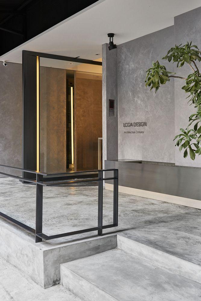 Galer a de oficina de dise o lcga lcga design 7 for Diseno de interiores para oficinas pequenas