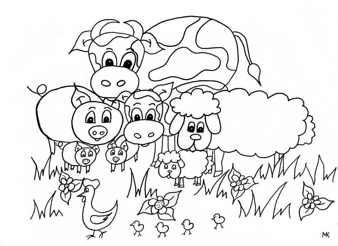 l lente jonge dieren jpg 1123 215 816 kleurplaten dieren