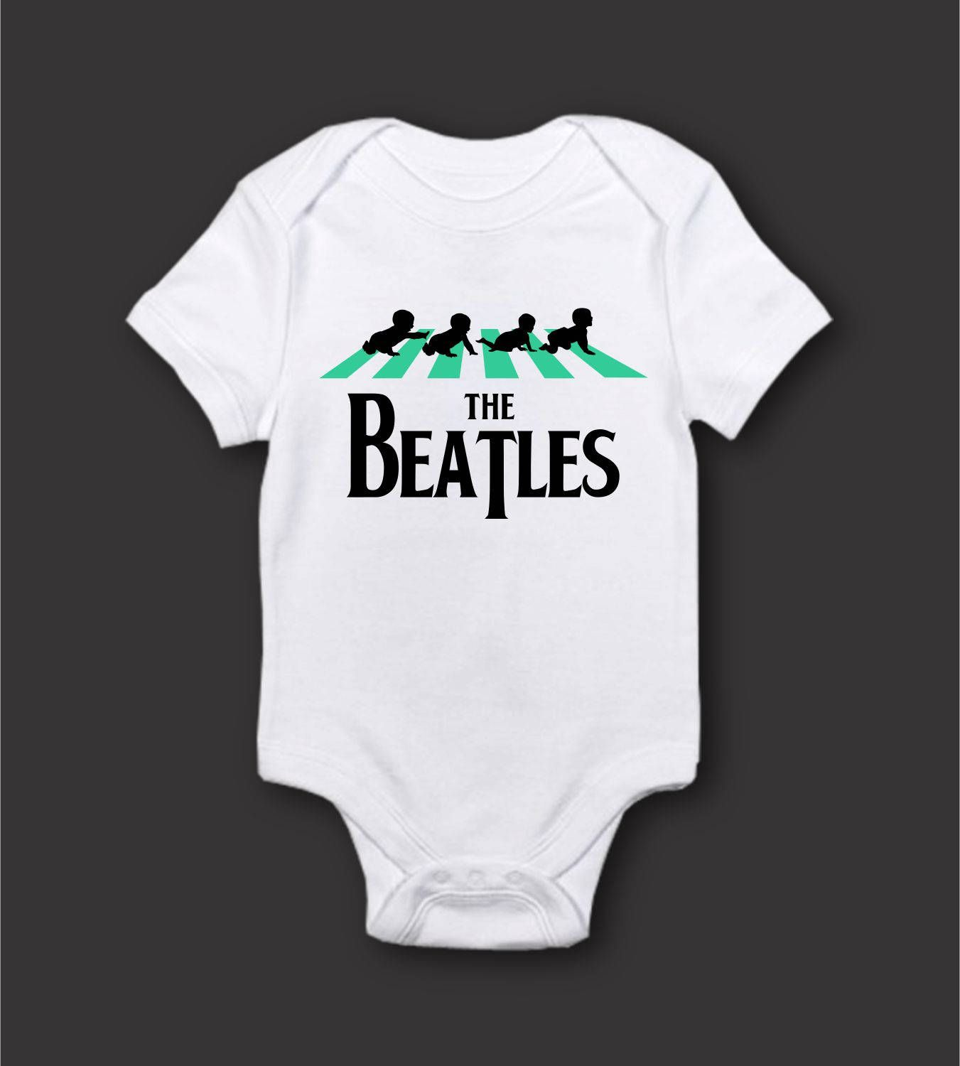 the beatles baby t shirt