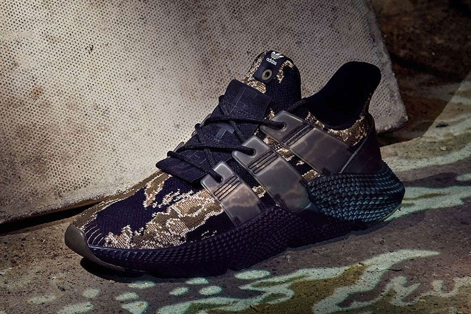 6cec5b7fb8d4c UNDFTD UNDEFEATED adidas Originals Prophere Tiger Camo Closer Look adidas  Consortium footwear Release Info Date Drops December 23