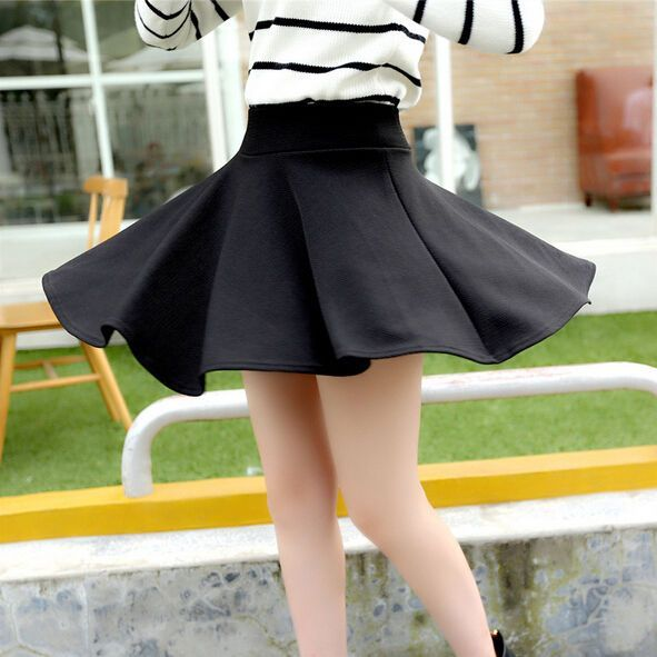 71ce1e8d0a2c Charming Women Short Skirts Big Swing With Safety Short Pants A-Lined Mini  Skirt