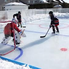 Ice Rink Mwfacility Ice Hockey Rink Backyard Ice Rink Hockey Rink
