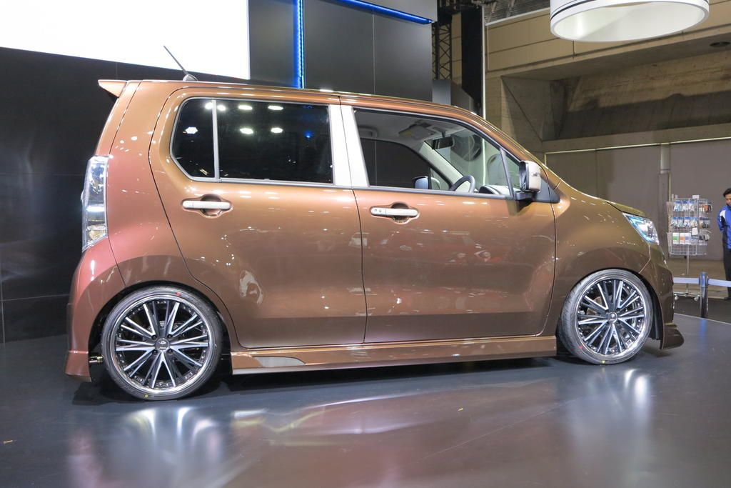 Autoguide Com Japan 2013 Auto Salon Suzuki Stingray Wagon Dengan