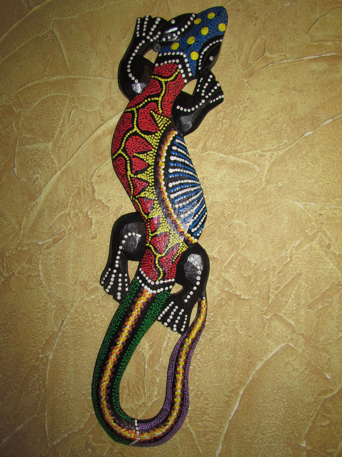 Jaszczurka Gekon 50cm Z Indonezji Na Prezent