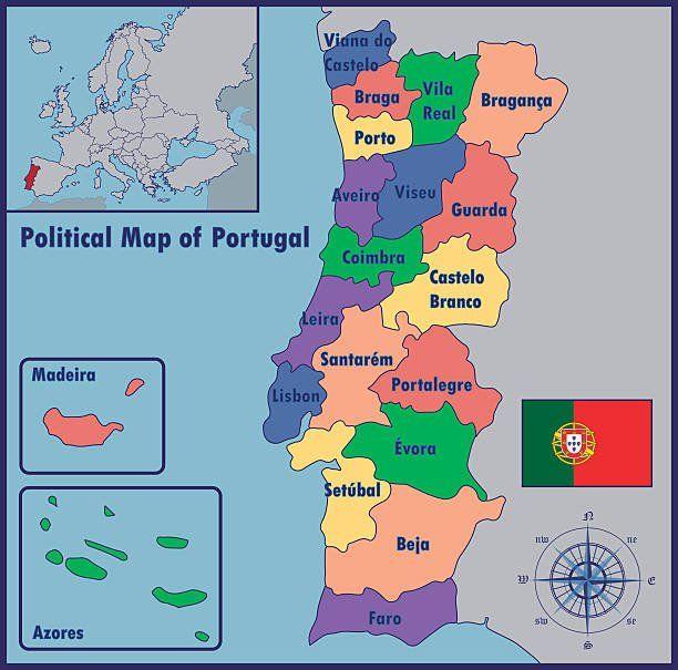 Mapa De Portugal Roteiro E Guia Para Visitar Portugal Mapa