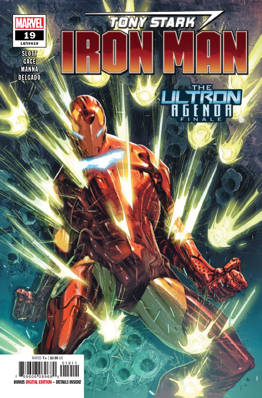 Tony Stark Iron Man 19 Marvel 2020 Nm Iron Man Comic Art Tony Stark Comic Iron Man Comic