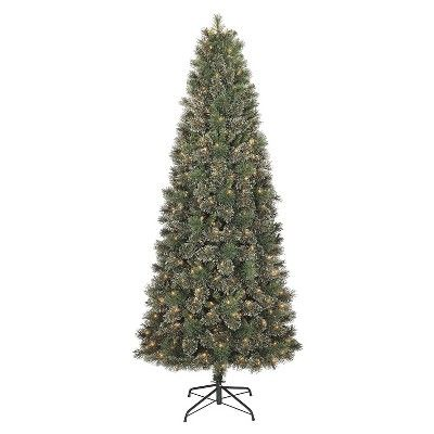 I spied with my Target eye: 7.5' Prelit Slim Virginia Pine Christmas Tree - Clear lights, from the Weekly Ad http://weeklyad.target.com
