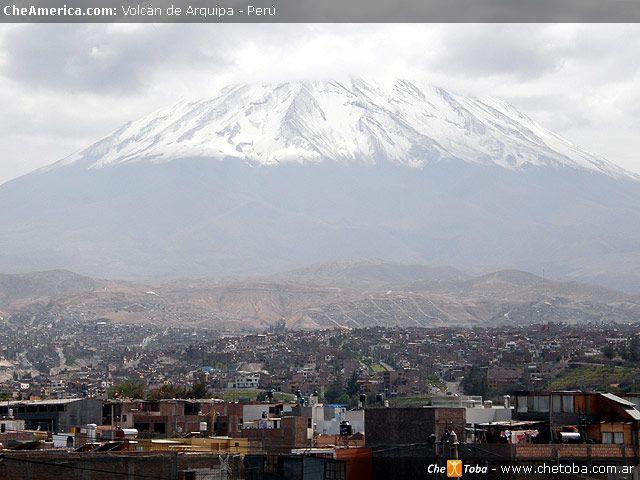 Otro volcán Arequipa Perú | Fotos - Mapa - Blog de Viajes
