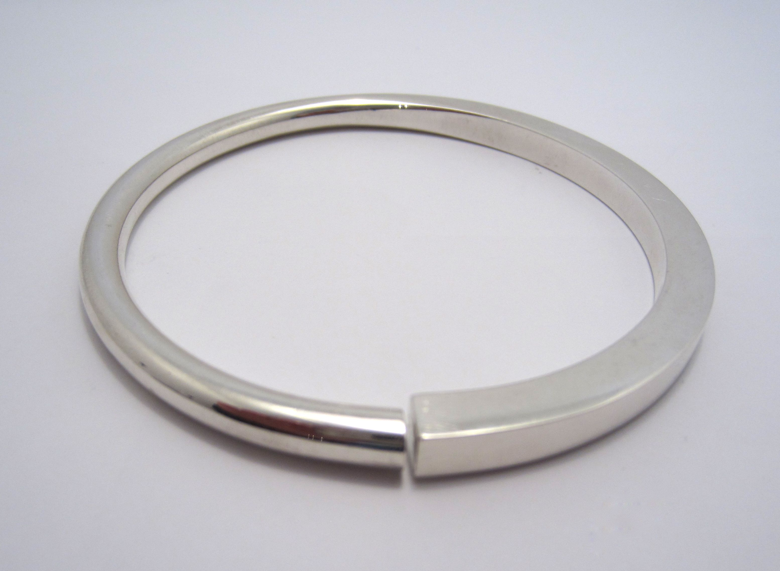 bracelet silver bangle bangles square sterling