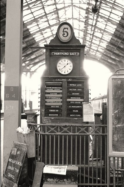21 best Railway images on Pinterest   Liverpool street, London history and  Nostalgia