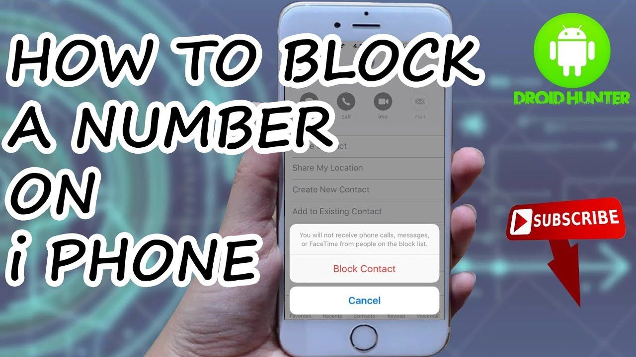 How To Block A Number On Iphone How To Block No Caller Id On Iphone How Caller Id Iphone Block A