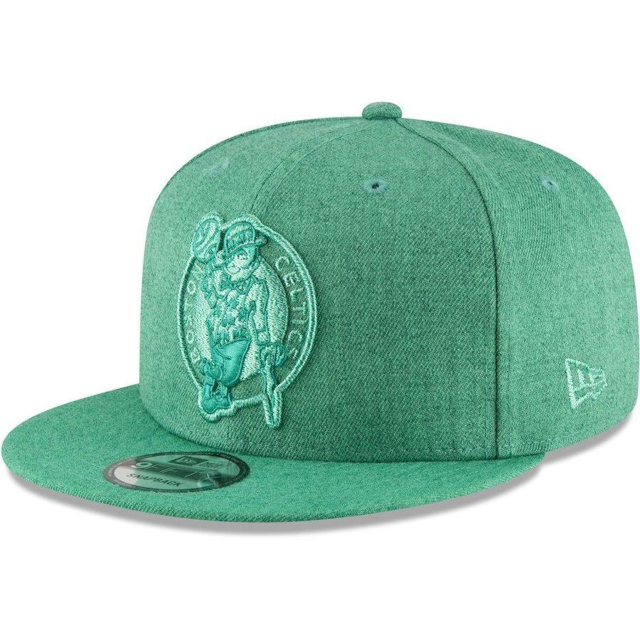 7e1cdc3ef1c Men s Boston Celtics New Era Kelly Green Twisted Frame 9FIFTY Adjustable Hat