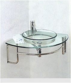 Cristal Lavamanos Modernos