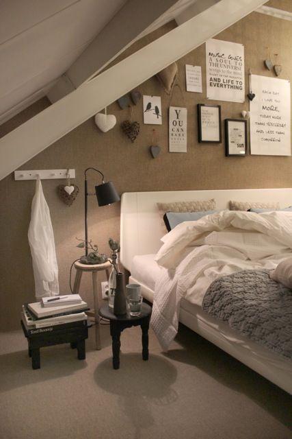 Slaapkamer | Bedroom ✭ Ontwerp | Design Marijke Schipper Bed ...