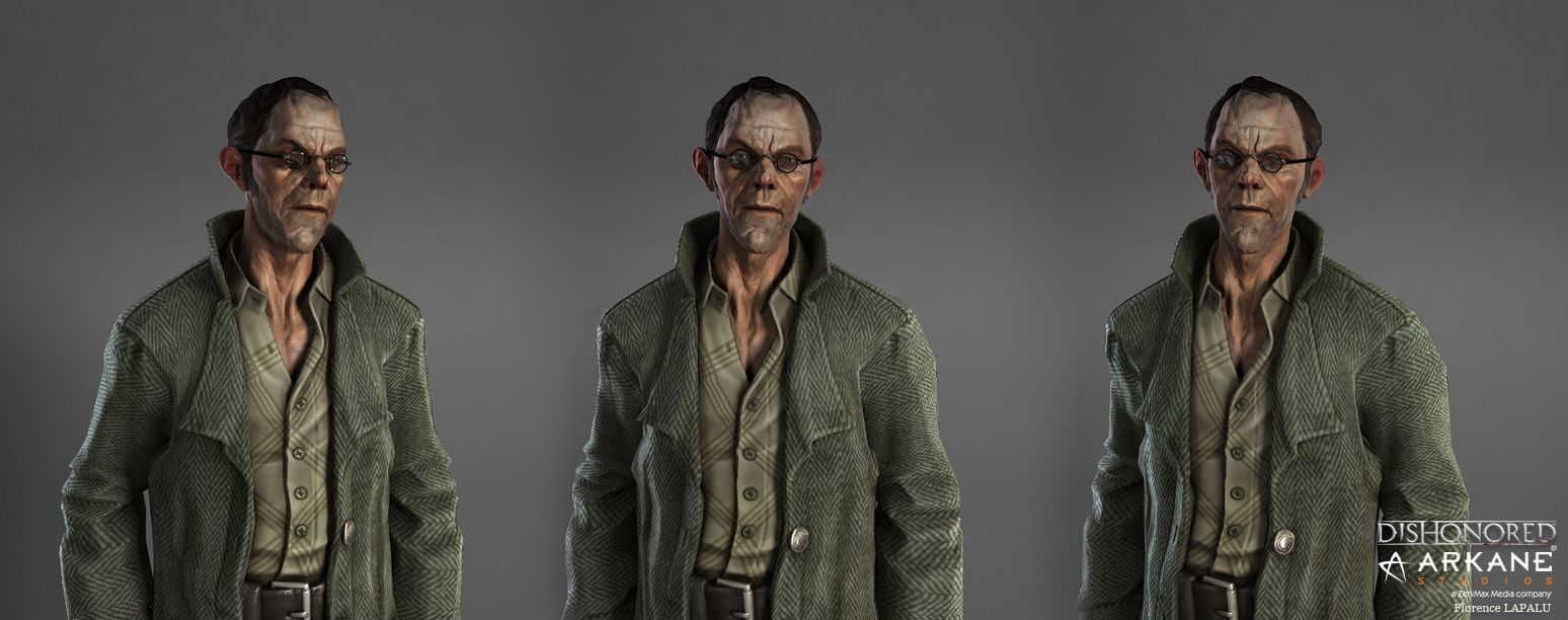 Dishonored - The Character Art (new images pg 3, 5, 6)