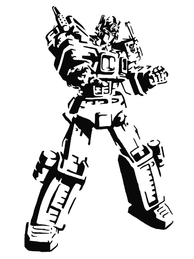 download your free transformers stencil here save time