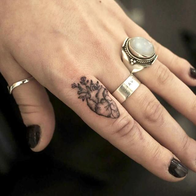 Photo of Finger Tattoos Are the Newest Trend, and We've Collected Some Amazing Ideas fo…