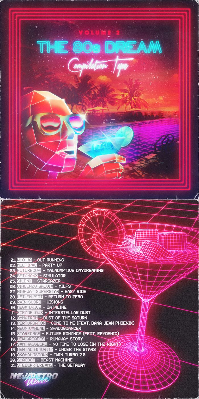 80s poster design - Daily Inspiration