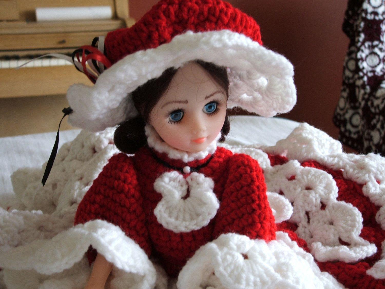 Free Printable Crochet Doll Patterns | Crochet Bed Doll – Crochet ...
