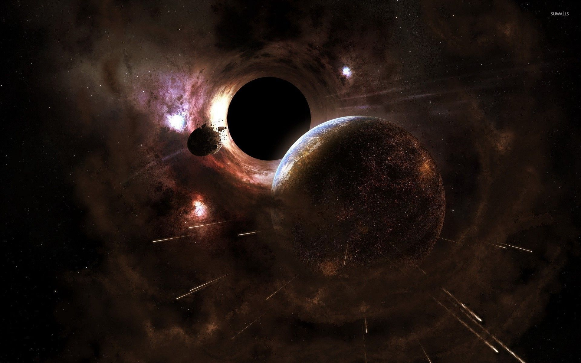 black hole wallpaper android apps on google play