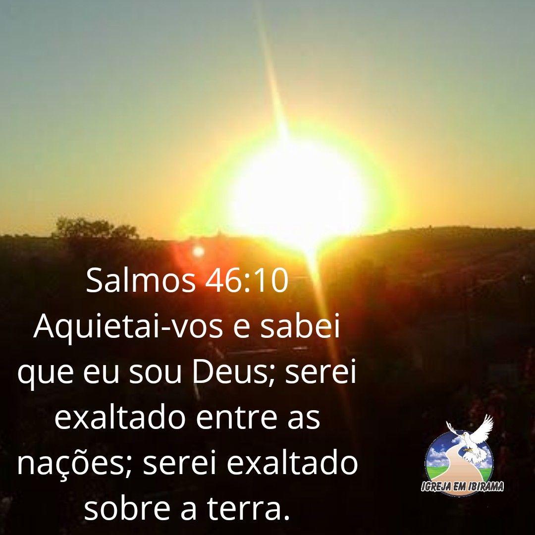 Aquietai Vos Palavra De Deus Citacoes Cristas Frases Sobre Deus