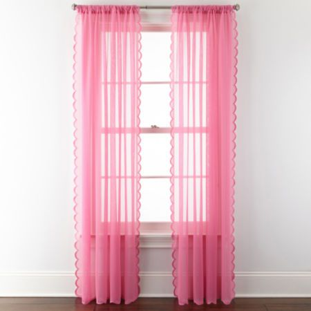 Home Expressions™ Jacqueline Rod-Pocket Sheer Panel Pair | Rod ...