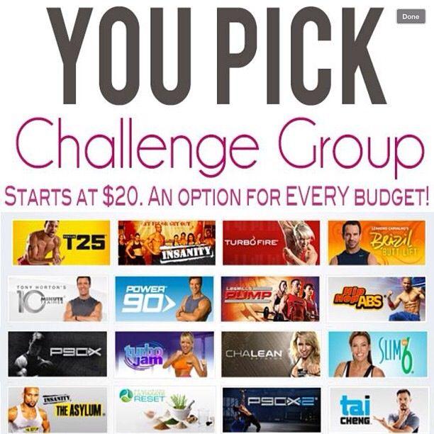 Challenge group