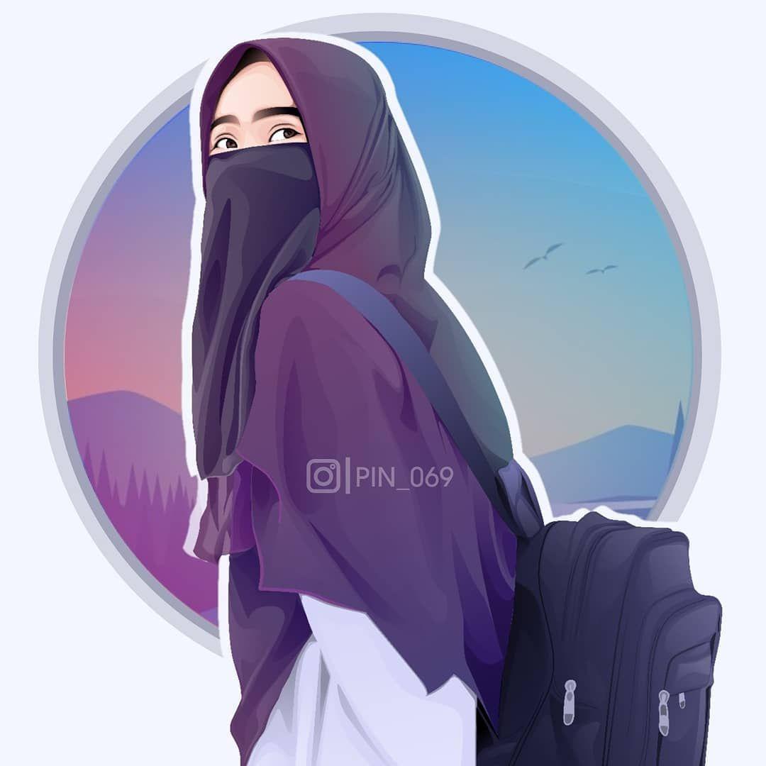 Pin On Anime Muslimah Elit