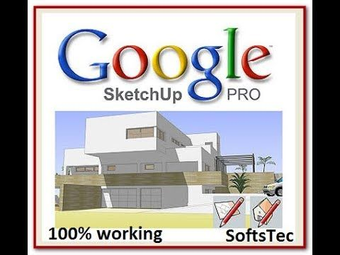 How to download SketchUp Pro 8 Crack Full Version Free | SoftsTec