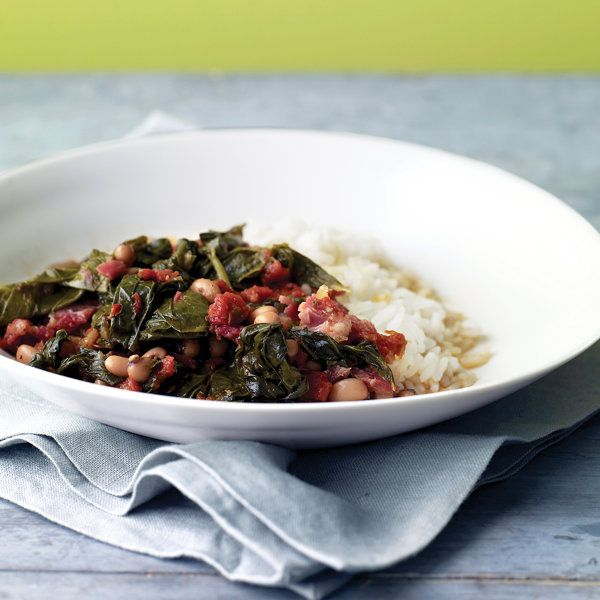 Braised Collards with Tomatoes Recipe | Food Recipes - Yahoo Shine