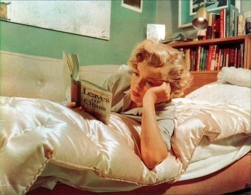 The sexiest someone can look is when they're holding a good book.