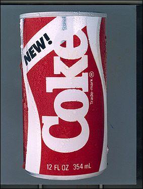 new coke - EPIC FAILURE