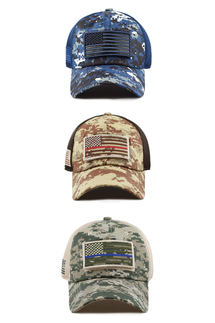 HAT DEPOT Low Profile Tactical Operator With USA Flag Patch Buckle Cotton  Cap a21e6667fb25
