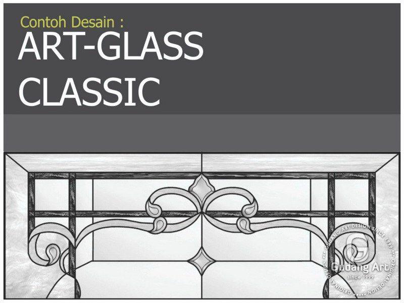 ♥20+ model jendela kaca patri rumah klasik (kayu jati ...