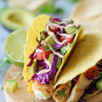 Fish Tacos with Chipotle Mayo Recipe - ZipList