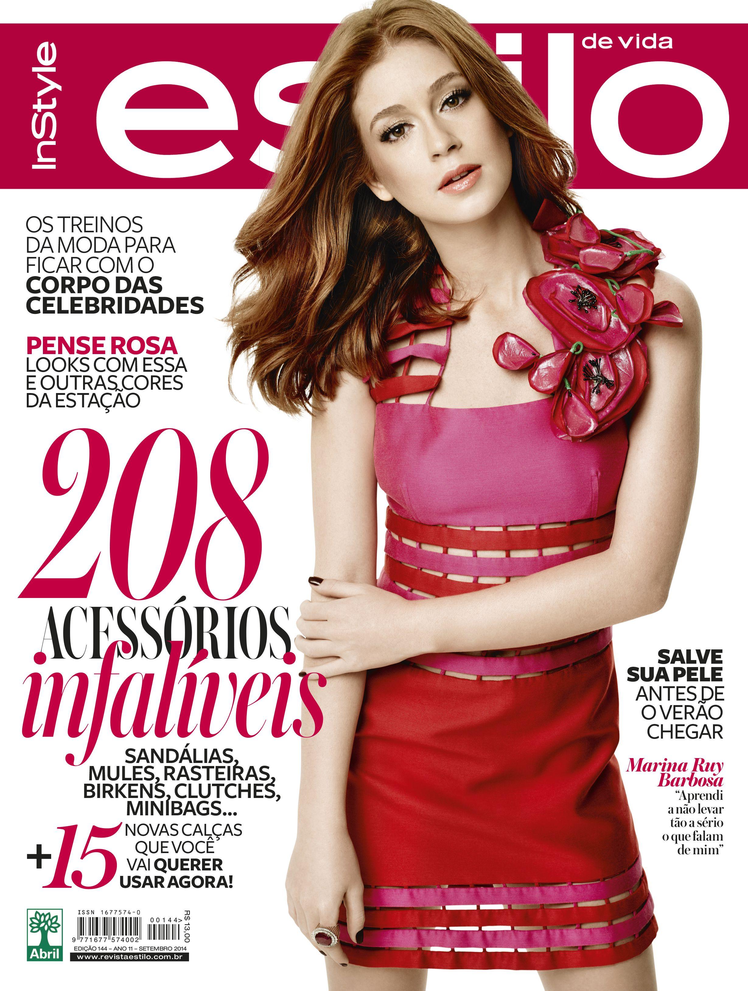 90d64c9e72d2b Edição 144 - Setembro de 2014 - Marina Ruy Barbosa   As capas de Estilo!