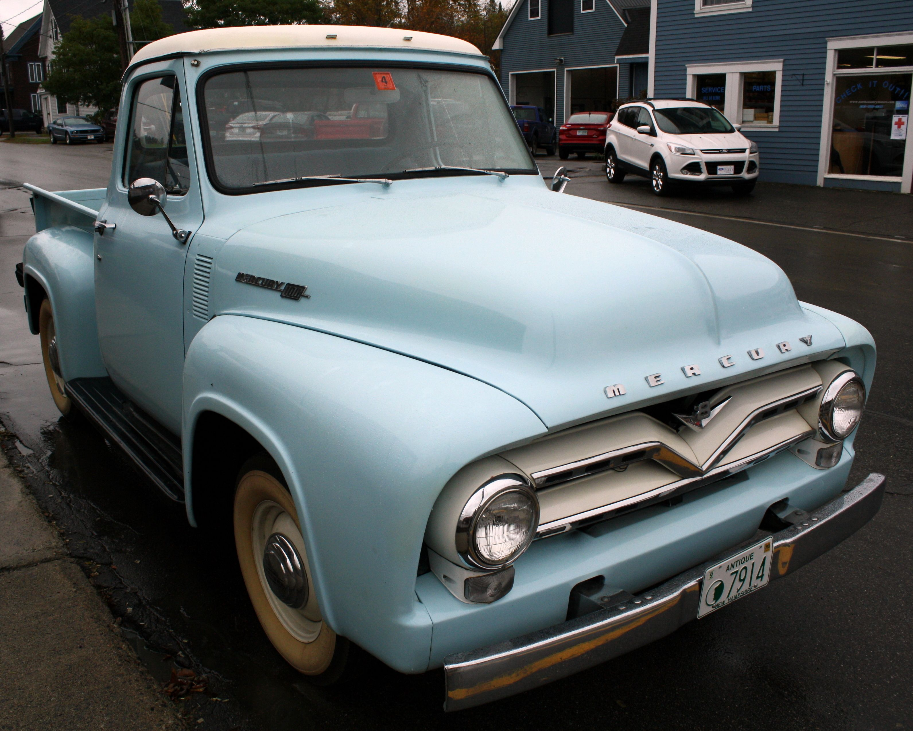 Mercury pickup truck i would even love it in this condition