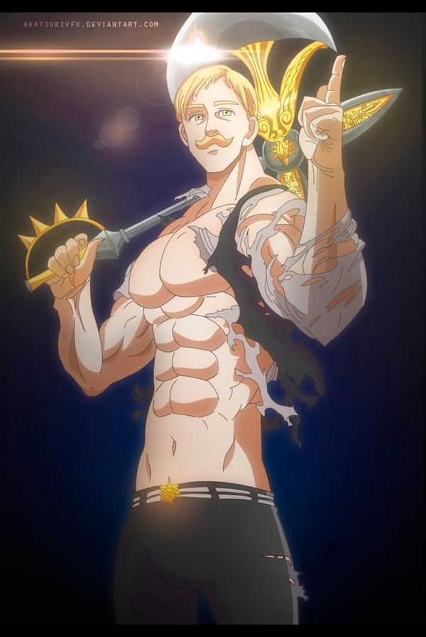 Nanatsu no taizai 148 Escanor by AkatsukiVFX on