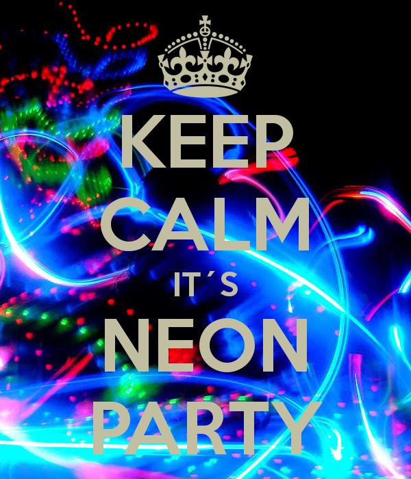 neon party centerpiece ideas | groovy neon party time! | emma's, Party invitations