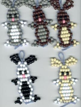 Cute Easy Pony Bead Animal Crafts Profit From Pony Beads