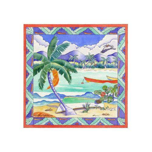 Motivstempel Perfect Day - Strandszene - von Whispers