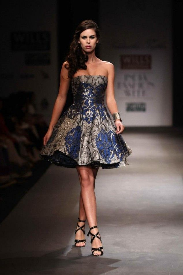 Siddartha Tytler's Collection at Wills Lifestyle India Fashion Week Autumn Winter 2013 | Best Indian Fashion Magazine|Latest Indian Fashion Trends|Indian Fashion News