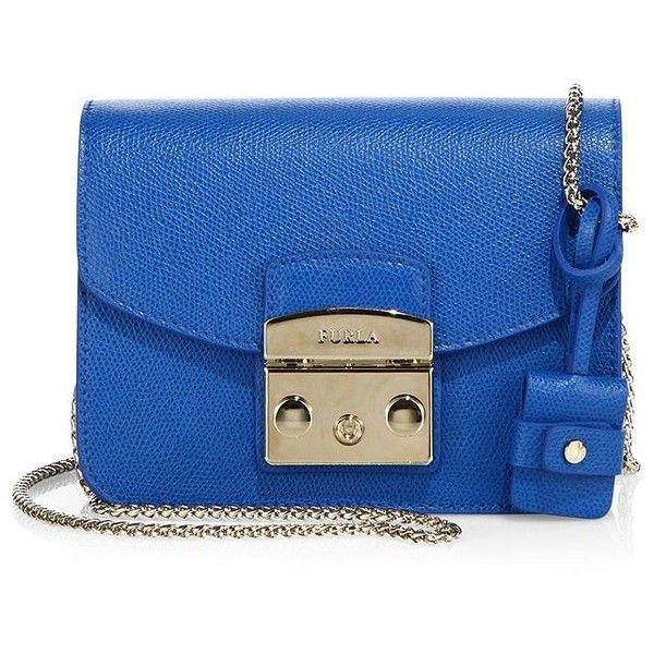 c01970edf3 Furla Metropolis Mini Leather Crossbody Bag (420 AUD) ❤ liked on Polyvore…