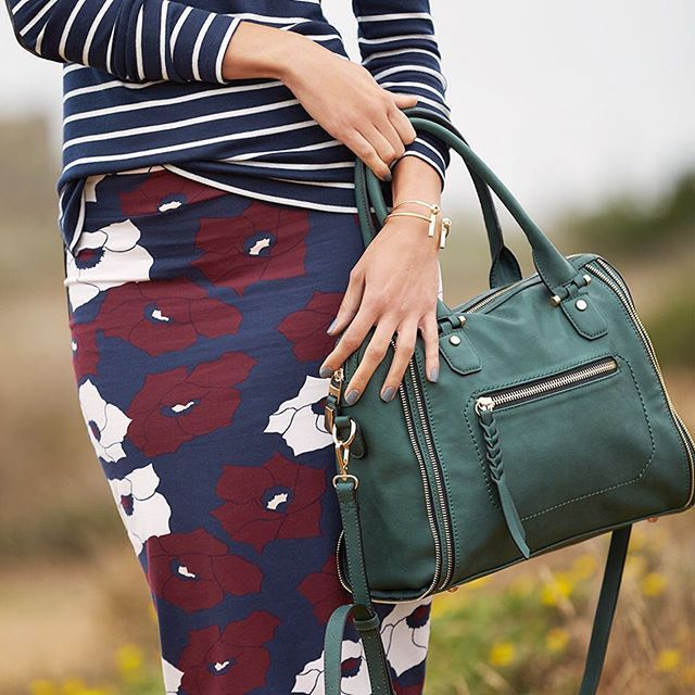 From plaid to moody florals, find out the top 5 major trends—and how to style them—for fall 2015 on the blog. #fixedonfall