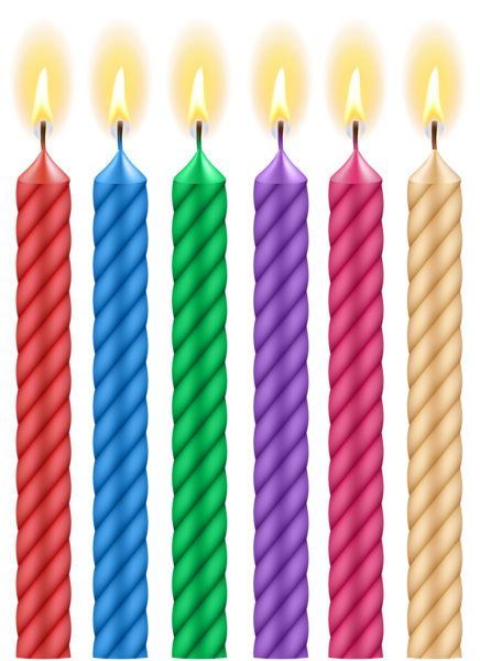 Birthday Candles Png Clip Art Image Birthday Candle Clipart Birthday Candles Birthday Candle Template