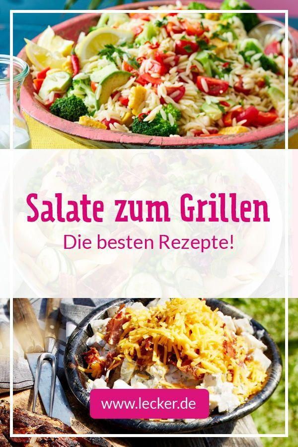 Salate zum Grillen - das schmeckt zu Würstchen, Steak & Co. | LECKER