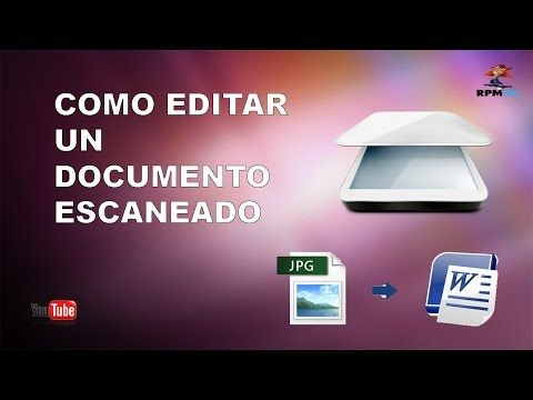 Como Convertir Una Imagen Escaneada A Texto Word Sin Programas Fácil Youtube Informatica Y Computacion Clases De Computacion Computacion