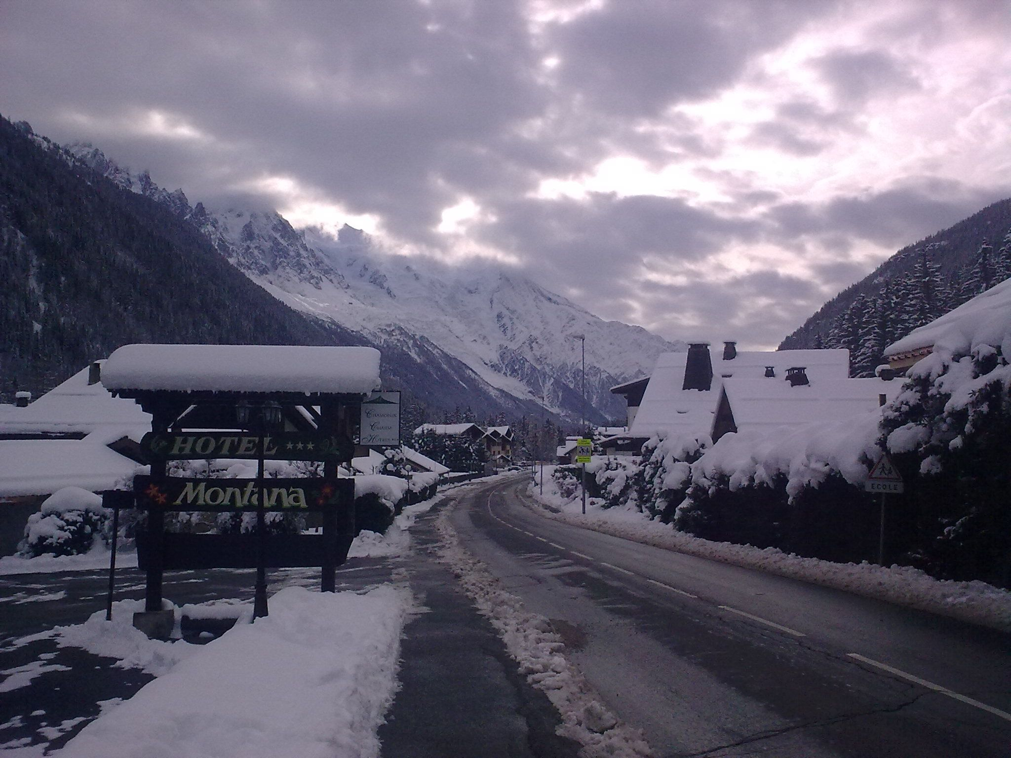 French Alps - Argentiere