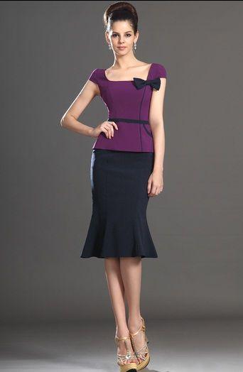 84385bb5f Conjuntos muy elegantes y modernos para la oficina | ropa | Vestidos ...